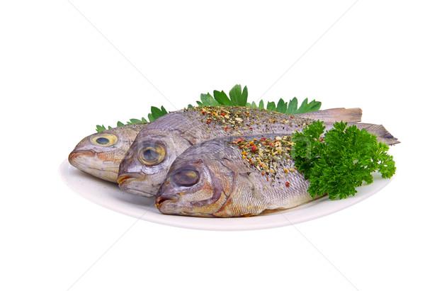 Stok fotoğraf: Kafa · 17 · gıda · beyaz · pişirme · taze