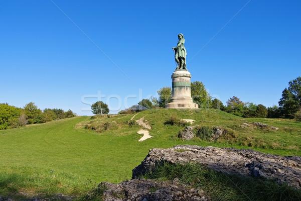 Vercingetorix monument in Burgundy Stock photo © LianeM
