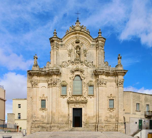 Matera church San Francesco d Assisi 02 Stock photo © LianeM