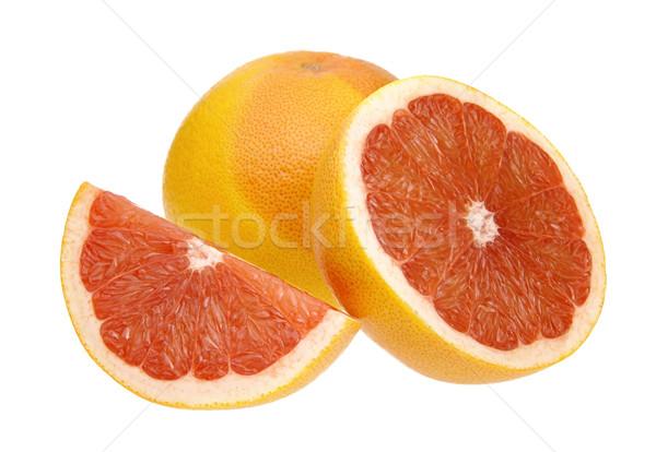 Pamplemousse 16 fruits orange jaune fraîches Photo stock © LianeM