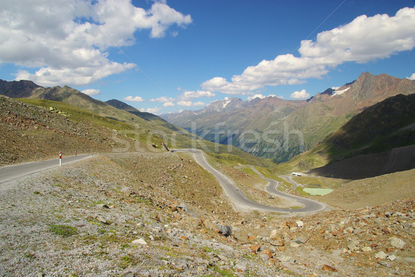 Kauner valley glacier road 06 Stock photo © LianeM