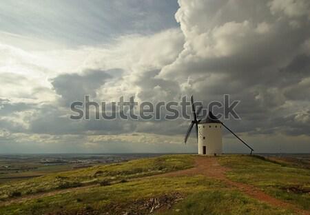 Alcazar windmill 10 Stock photo © LianeM