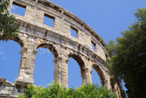 Pula  Stock photo © LianeM