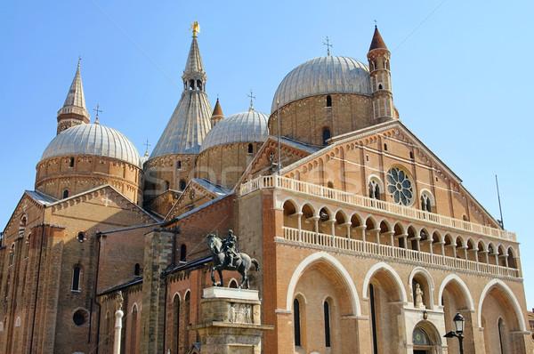 базилика здании город стены крест Церкви Сток-фото © LianeM