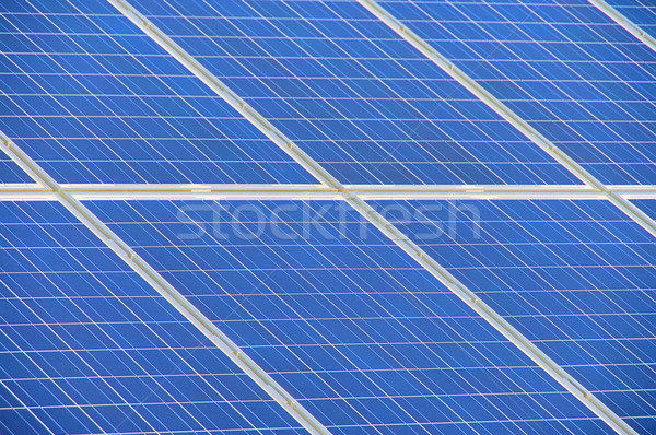solar plant detail 01 Stock photo © LianeM