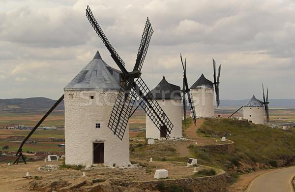 Consuegra Windmill 05 Stock photo © LianeM