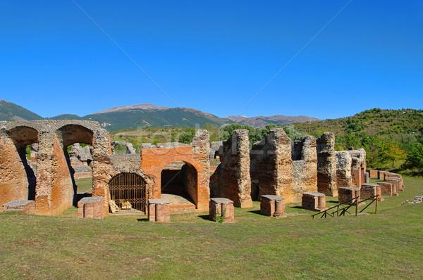 Amiternum amphitheatre 04 Stock photo © LianeM