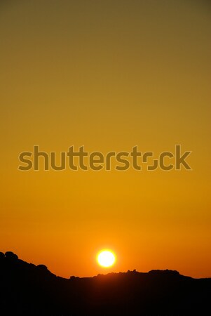 sunrise in the mountains 16 Stock photo © LianeM