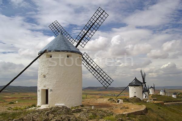 Consuegra Windmill 02 Stock photo © LianeM