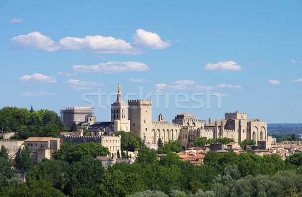 18 gebouw stad kerk skyline architectuur Stockfoto © LianeM