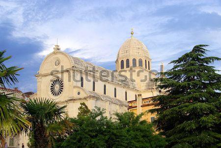 Montefiascone cathedral 03 Stock photo © LianeM