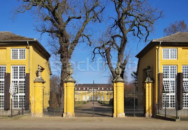 Dessau Palace Mosigkau  Stock photo © LianeM