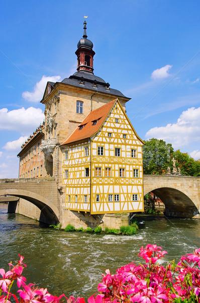 Bamberg townhall 02 Stock photo © LianeM