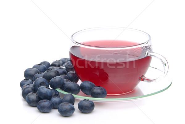 blueberry tea 09 Stock photo © LianeM