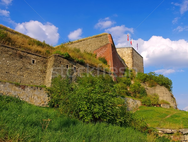castle Klodzko (Glatz) in Silesia Stock photo © LianeM