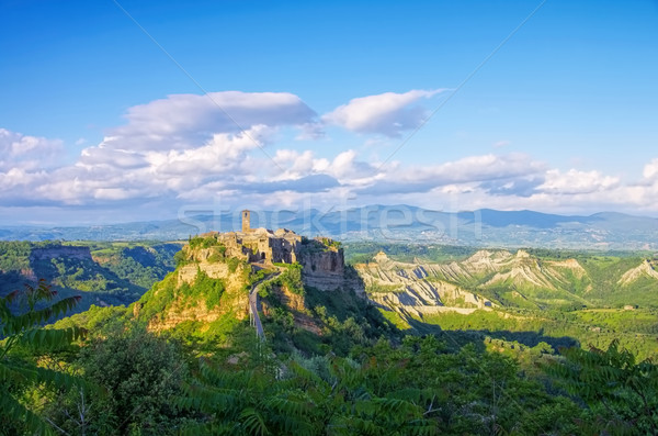 Civita di Bagnoregio, Lazio in Italy Stock photo © LianeM