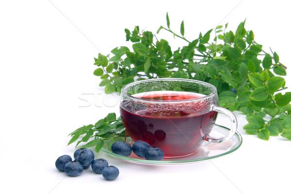 blueberry tea 13 Stock photo © LianeM