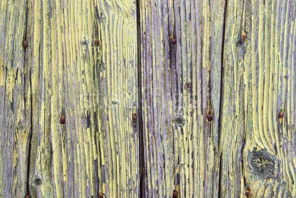 доска 12 текстуры дерево стены природы Сток-фото © LianeM