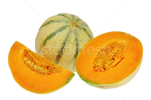 Charentais-Melon 01 Stock photo © LianeM