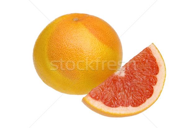 Pomelo 12 frutas naranja amarillo frescos Foto stock © LianeM