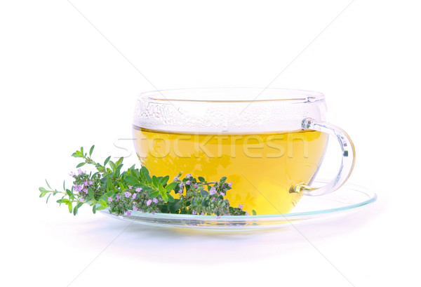tea thymus 03 Stock photo © LianeM