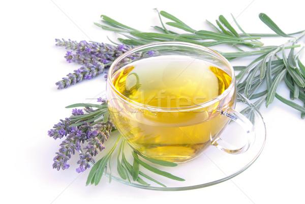 lavender tea 08 Stock photo © LianeM