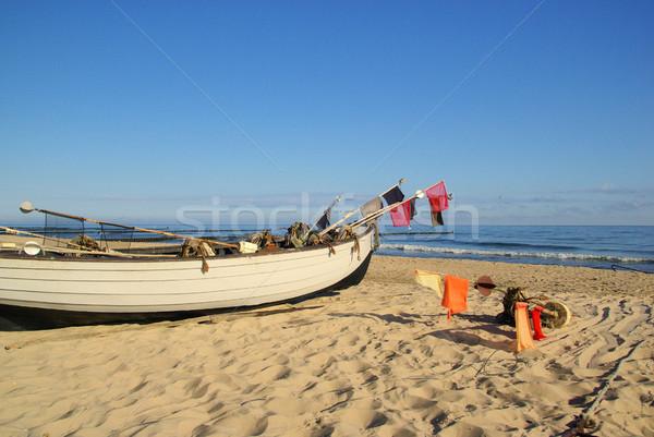 fishing cutter on the beach 16 Stock photo © LianeM