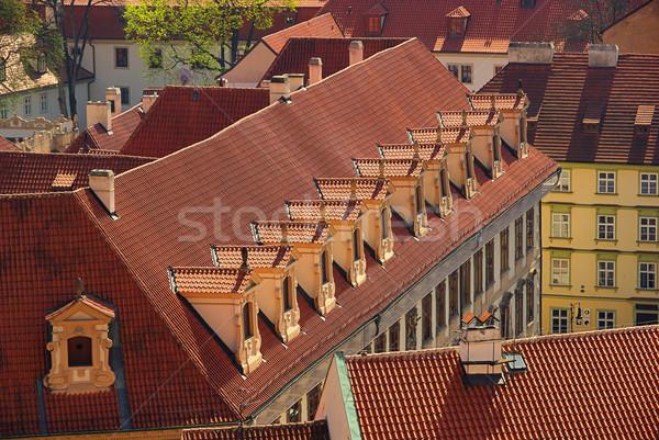 window in roof 03 Stock photo © LianeM