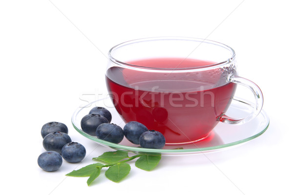 blueberry tea  Stock photo © LianeM