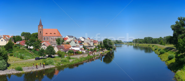 Eisenhuettenstadt in Brandenburg, Germany Stock photo © LianeM