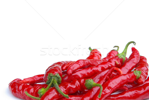 chile pepper 10 Stock photo © LianeM