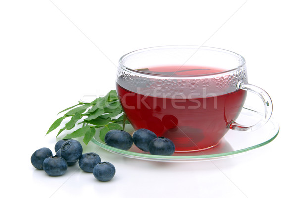 blueberry tea 02 Stock photo © LianeM