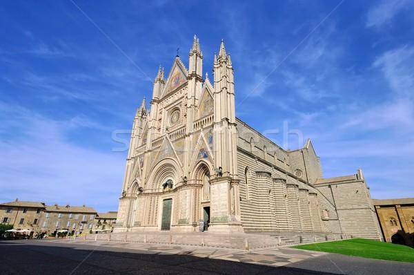 Orvieto cathedral  Stock photo © LianeM