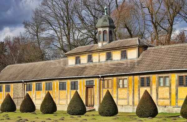 Oranienbaum palace  Stock photo © LianeM
