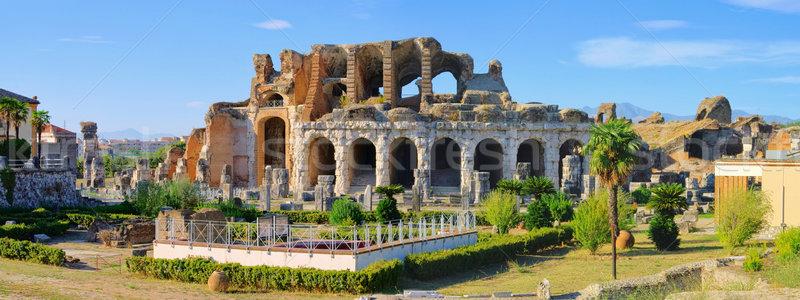 Capua amphitheatre 12 Stock photo © LianeM