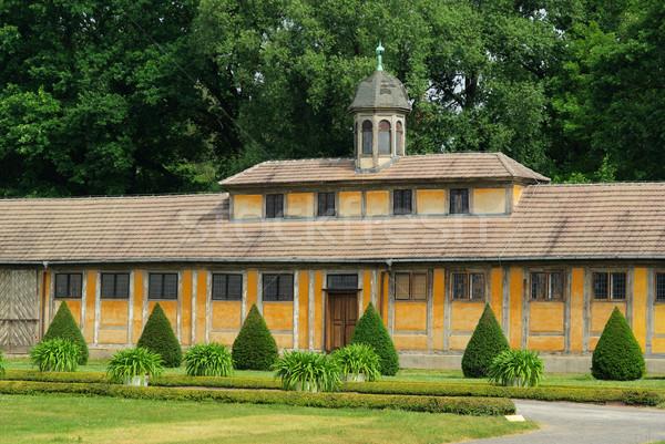 Oranienbaum palace 05 Stock photo © LianeM
