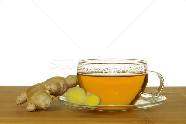 tea ginger 05 Stock photo © LianeM