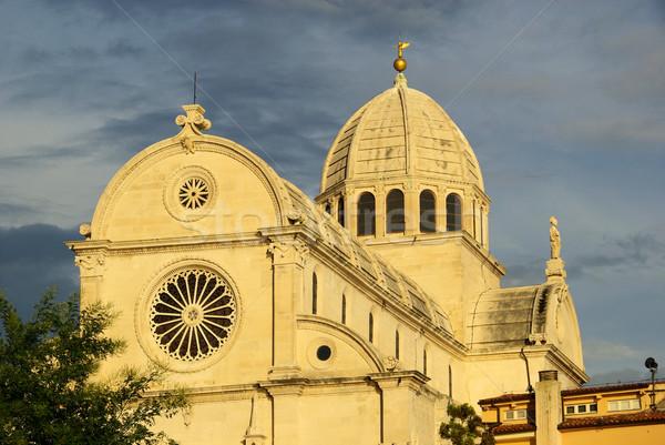 Sibenik Cathedral 02 Stock photo © LianeM