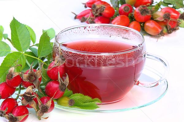 rose hip tea 03 Stock photo © LianeM