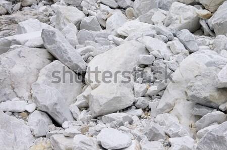 Carrara  marble stone pit 27 Stock photo © LianeM