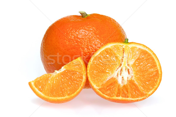 Mandarine freigestellt - tangerine isolated 12 Stock photo © LianeM