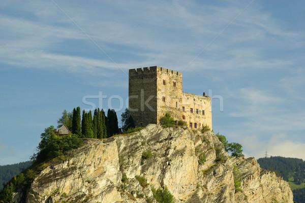 Stock photo: Ladis castle Laudegg 10