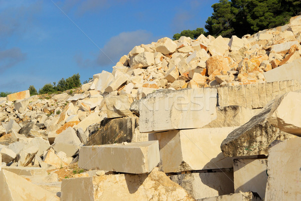 marble stone pit 05 Stock photo © LianeM