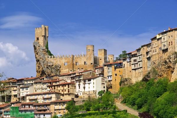 Frias castle  Stock photo © LianeM