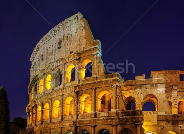 Rom Colosseum by night  Stock photo © LianeM
