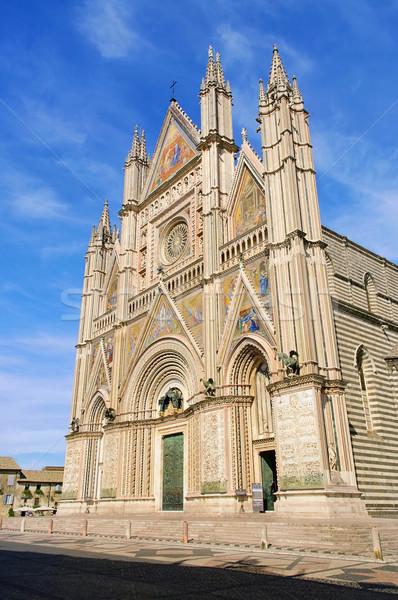 Orvieto cathedral 04 Stock photo © LianeM