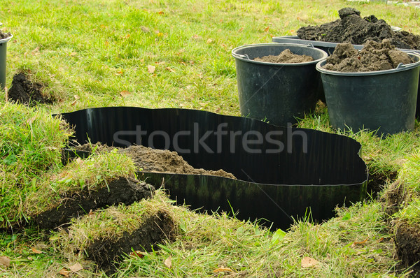 root barrier 07 Stock photo © LianeM