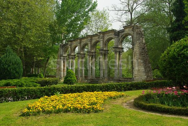 Burgos triumphal arch 02 Stock photo © LianeM