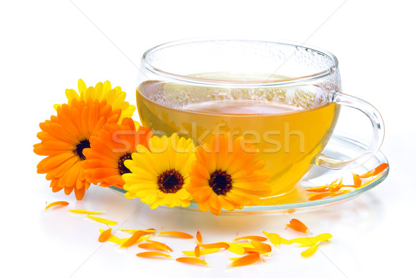 tea marigold 07 Stock photo © LianeM