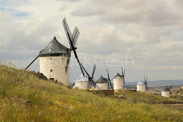 Consuegra Windmill 09 Stock photo © LianeM